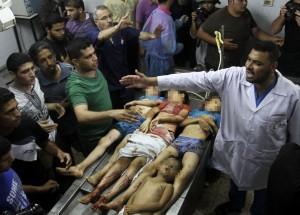 Israeli - Gaza conflict, Gaza, Palestinian Territories - 18 Jul 2014