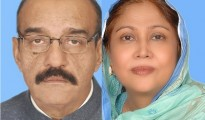 Faryal Talpur and her husband Munawwar Talpur